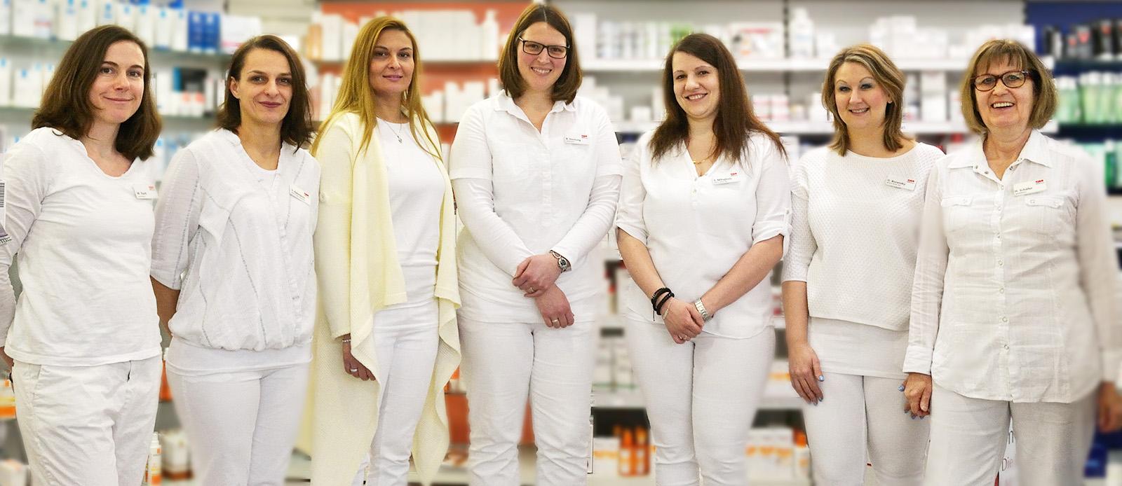 Das Team der Apotheke im Neckar Center